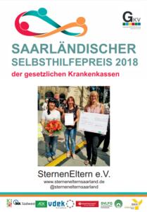 Urkunde Saarländischer Selbsthilfepreis 2018